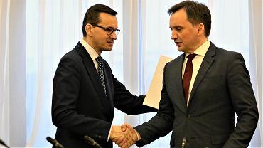 Mateusz Morawiecki Zbigniew Ziobro