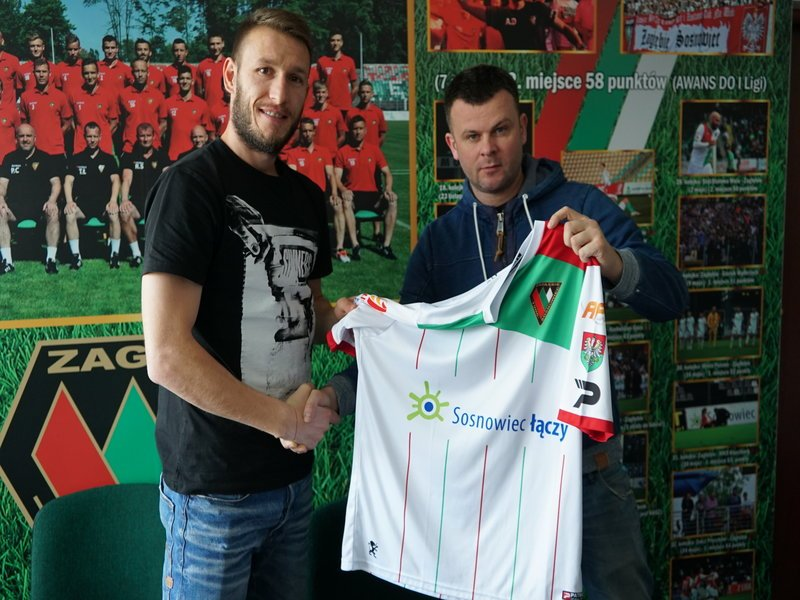 Dimityr Wezałow i prezes Marcin Jaroszewski