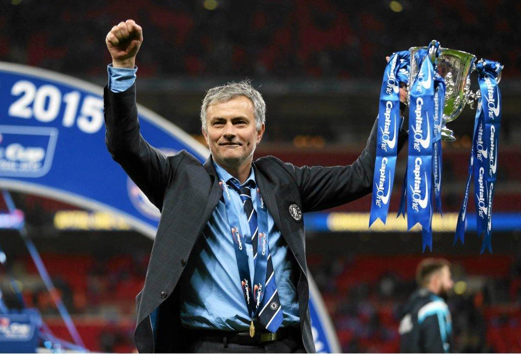 Jose Mourinho i puchar