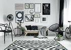 Czarno-biała aranżacja - ponadczasowe połączenie