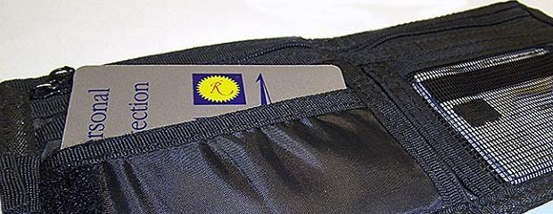 'Neutralizator promieniowania' w kształcie karty płatniczej
