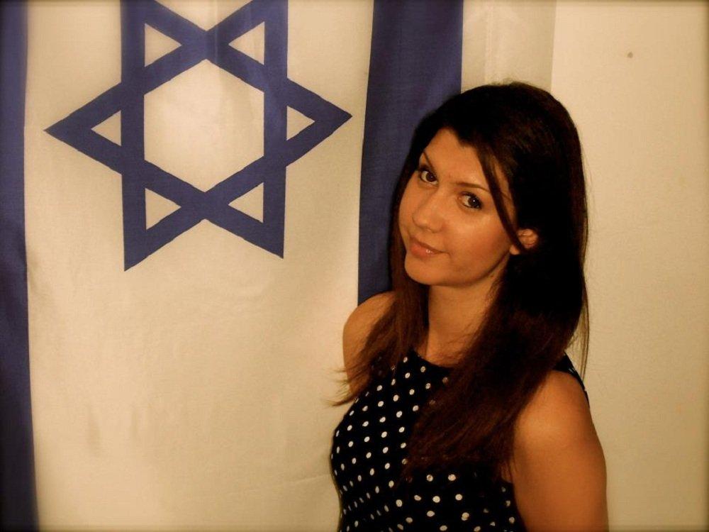 Sara Shalam, świeżo upieczona Izraelka