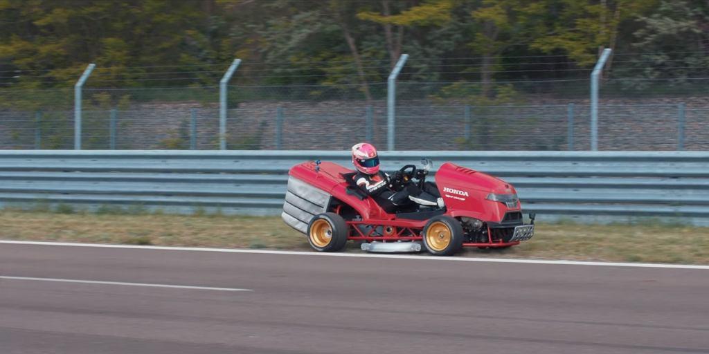 Honda bije rekord prędkości... kosiarką