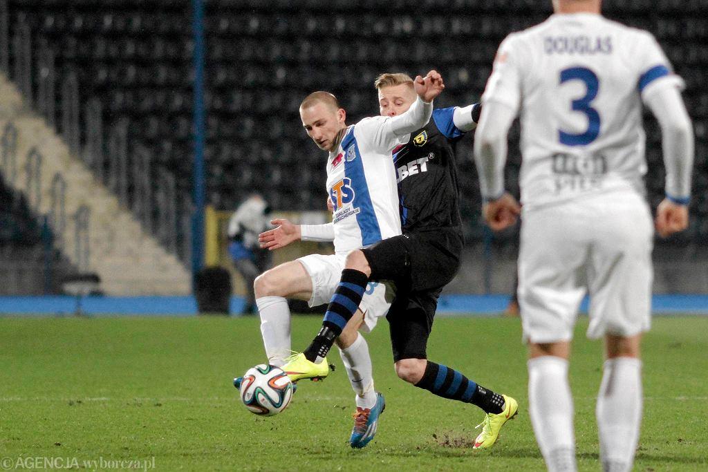 Zawisza Bydgoszcz - Lech Poznań 1:0. Szymon Pawłowski