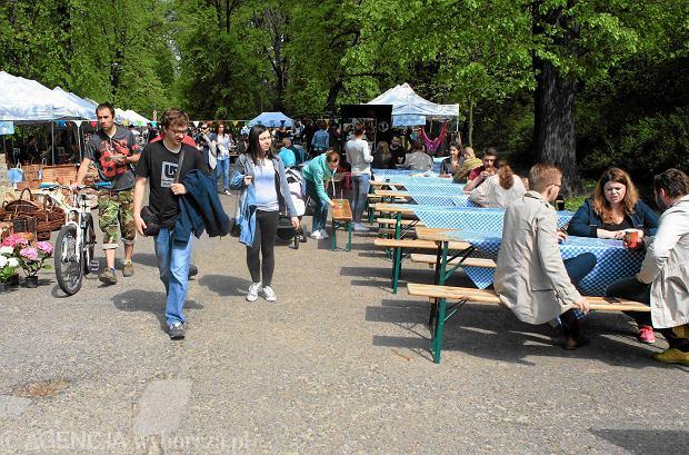 Targ Śniadaniowy w parku Skaryszewskim