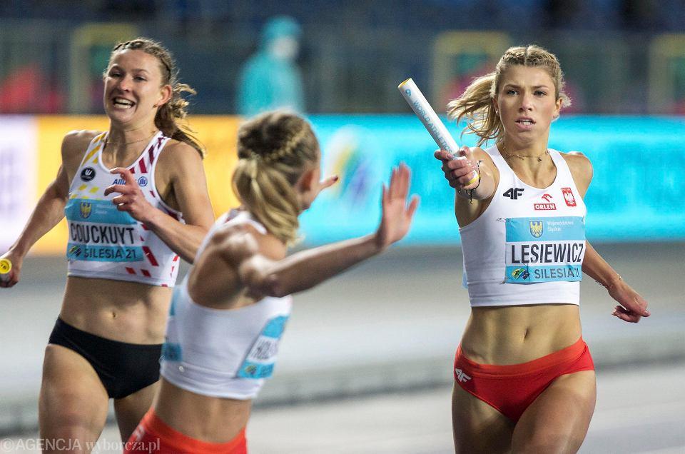 Zdjęcie numer 4 w galerii - Ponownie złota polska drużyna lekkoatletyczna, a w niej Kornelia Lesiewicz