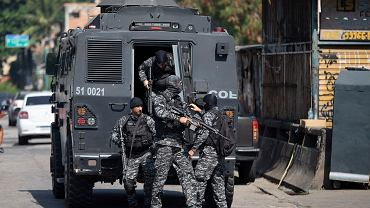 Operacja policji w Rio de Janeiro