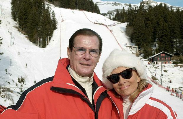 Roger Moore i Kristina Tholstrup