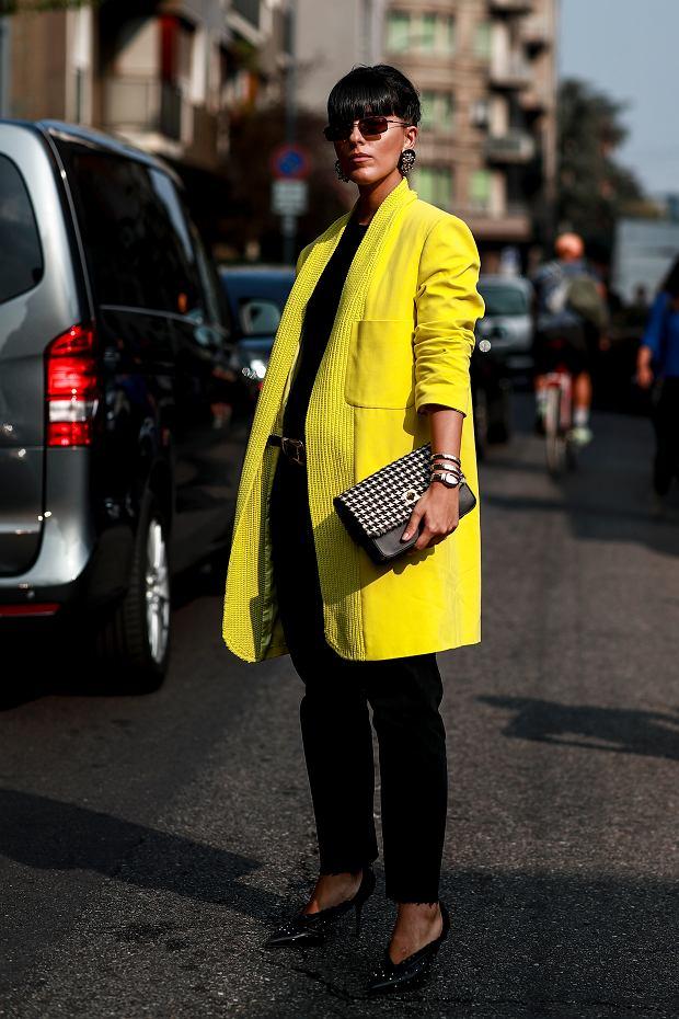 Klasyka stylu - połączenie koloru żółtego z czernią