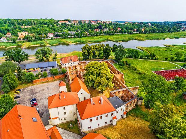 Krosno Odrzańskie, zamek piastowski