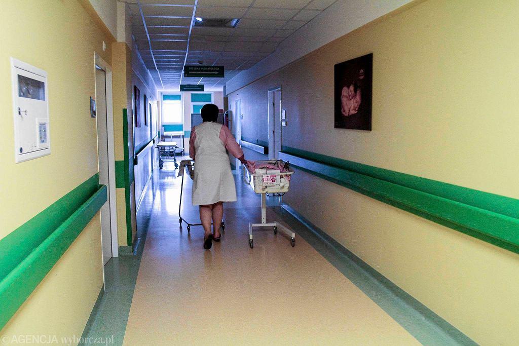 Kielce, oddział położniczy szpitala na Czarnowie