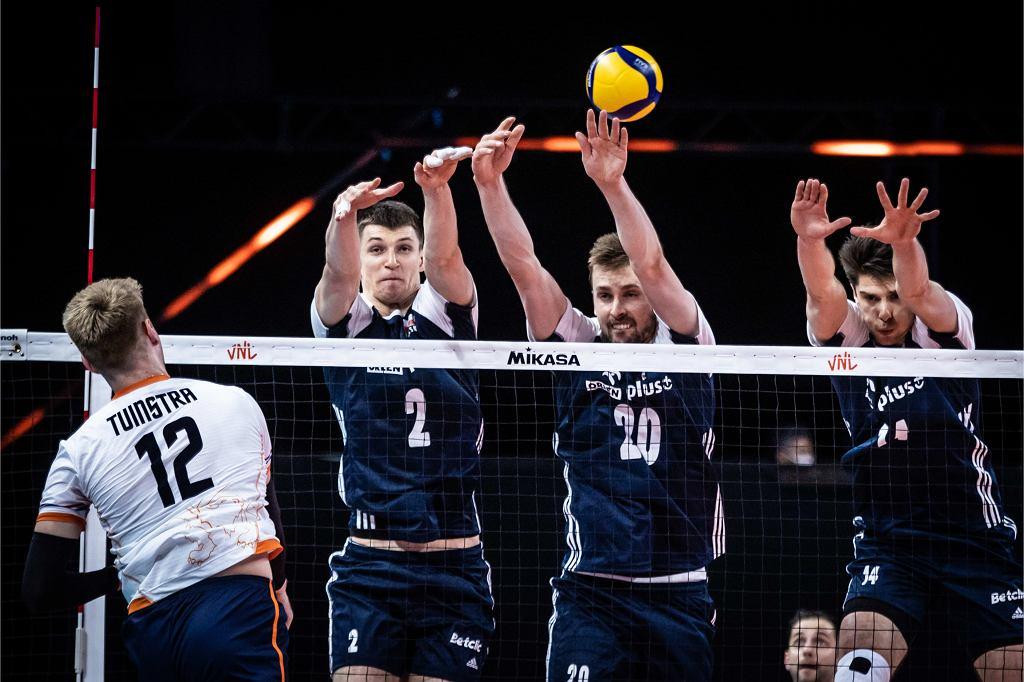 Liga Narodów: Polska - Holandia, siatkówka