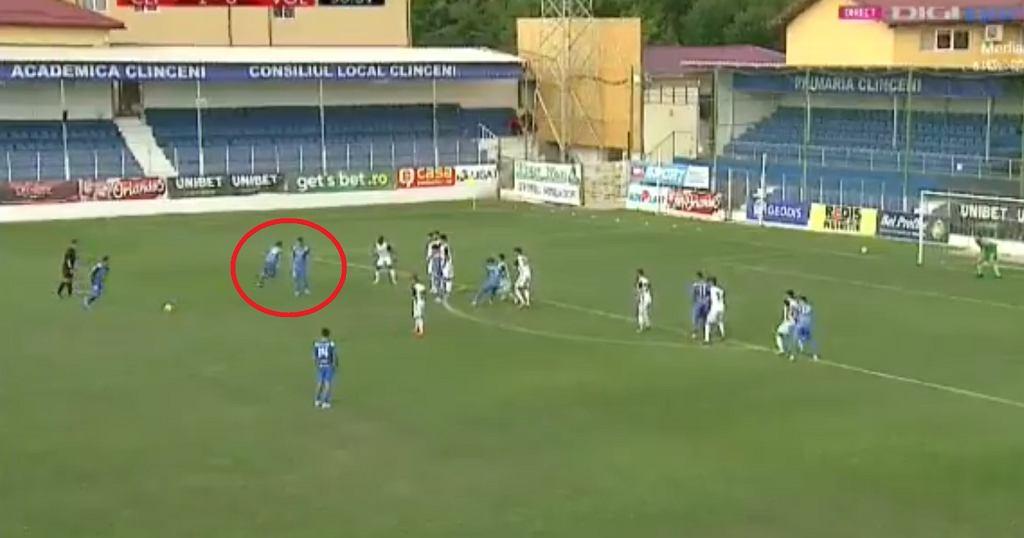 Mecz ligi rumuńskiej