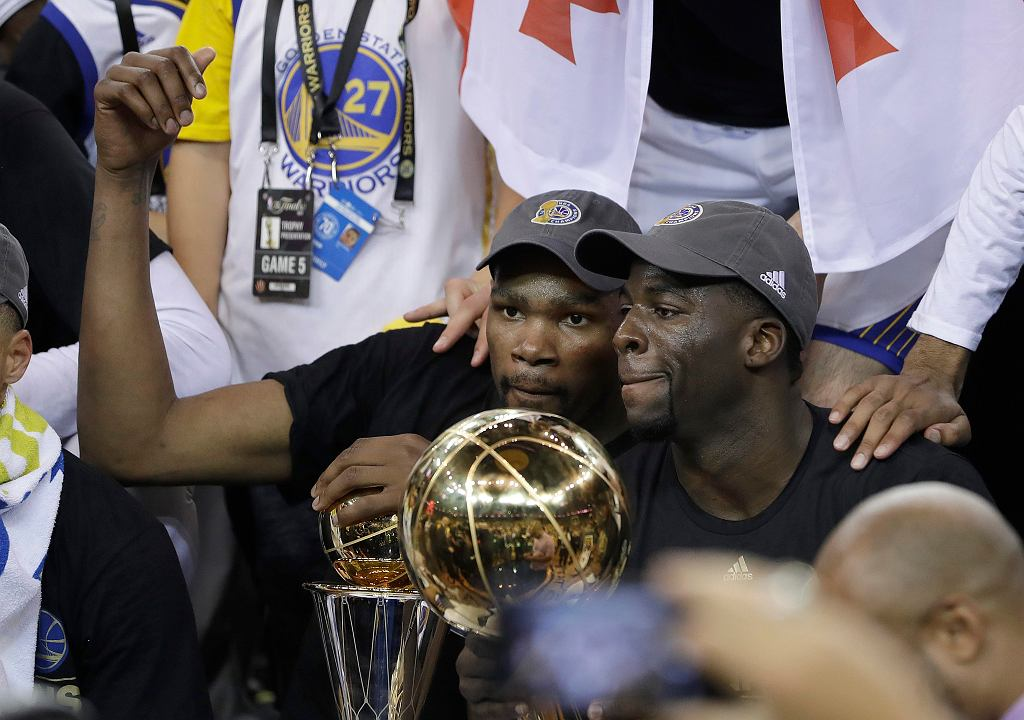 Golden State Warriors mistrzami NBA 2017!