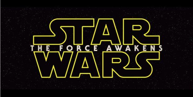 Gwiezdne Wojny: Przebudzenie Mocy - logo angielskie