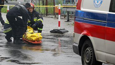 Akcja ratunkowa po potężnej burzy w Tatrach