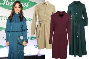 sukienki w kolorach jesieni/mat. partnera