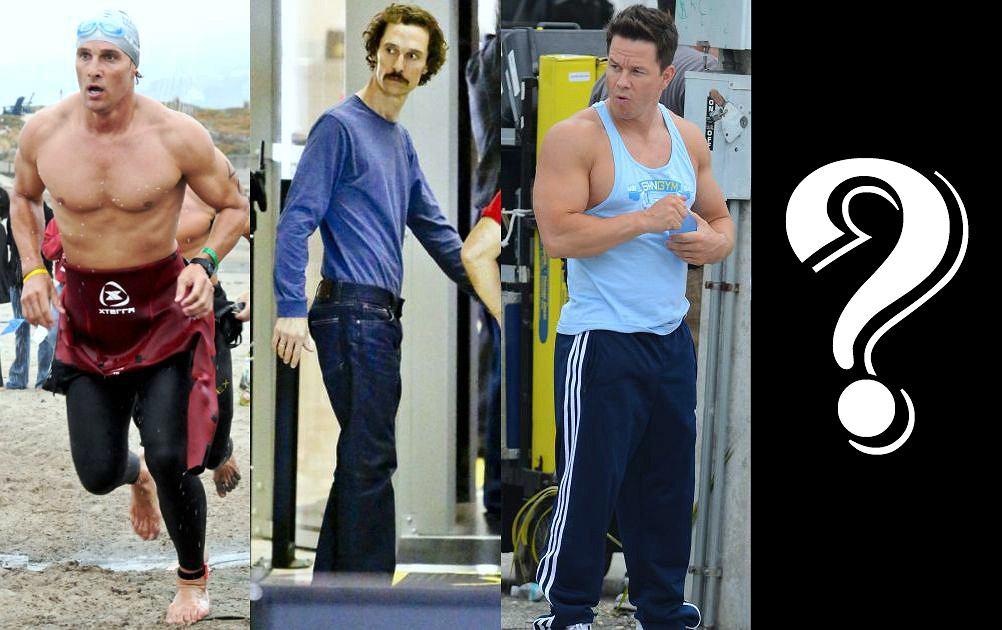 W Hollywood zmiana wyglądu dla roli to nic nowego - jednak zmiana fryzury czy sposobu mówienia to proste rzeczy. Niektórzy aktorzy są w stanie bardzo poświęcić się dla roli. Stawka jest wysoka, bo często z taką imponującą metamorfozą wiąże się nawet otrzymanie Oscara. To właśnie Matthew McConaughey, który do roli w filmie