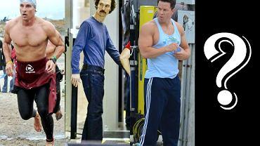 """W Hollywood zmiana wyglądu dla roli to nic nowego - jednak zmiana fryzury czy sposobu mówienia to proste rzeczy. Niektórzy aktorzy są w stanie bardzo poświęcić się dla roli. Stawka jest wysoka, bo często z taką imponującą metamorfozą wiąże się nawet otrzymanie Oscara. To właśnie Matthew McConaughey, który do roli w filmie """"Witaj w klubie"""" schudł 20 kg, dostał w zeszłym roku tę najważniejszą w świecie filmowym nagrodę za rolę pierwszoplanową. Teraz wyzwanie podjął Mark Wahlberg, gwiazdor filmu """"Transformers: Wiek zagłady"""". W mediach pojawiły się właśnie 3 kadry z jego nowego filmu  """"Hazardzista"""". To, co przede wszystkim rzuca się w oczy to ogromnie wychudzona sylwetka aktora. Do tej pory jego znakiem rozpoznawczym była starannie wyrzeźbiona klata i imponujący biceps. Wahlberg zdobył się na olbrzymie poświęcenie i do roli w nowym obrazie schudł 30 kg! Zobaczcie, jak się zmienił."""