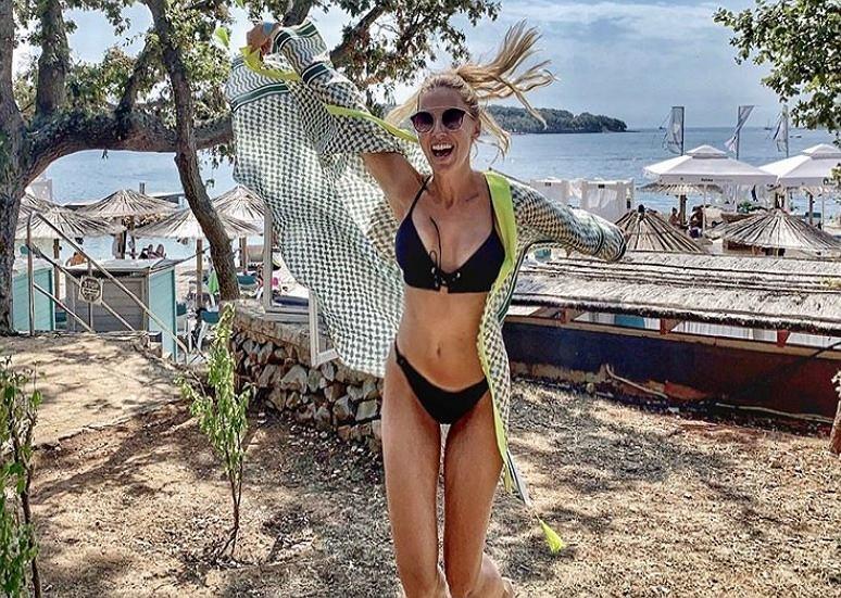 Agnieszka Hyży pokazała seksowne zdjęcie w bikini. Wiemy, w czym twki sekret jej sylwetki