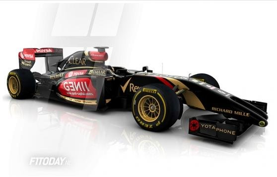 Nowy bolid Lotusa
