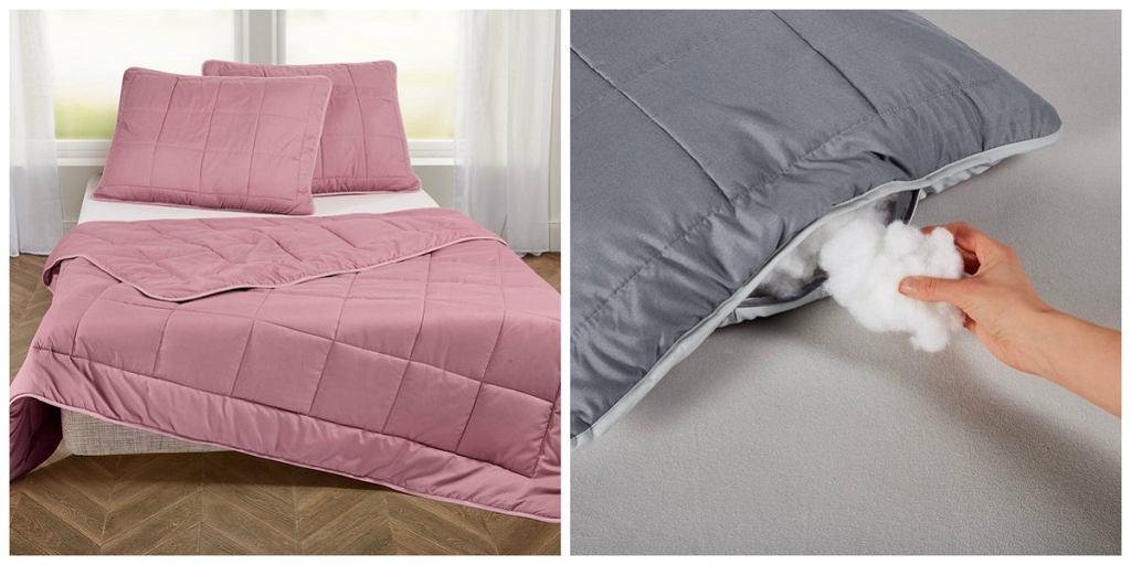 Kołdra i poduszki Meradiso z Lidla