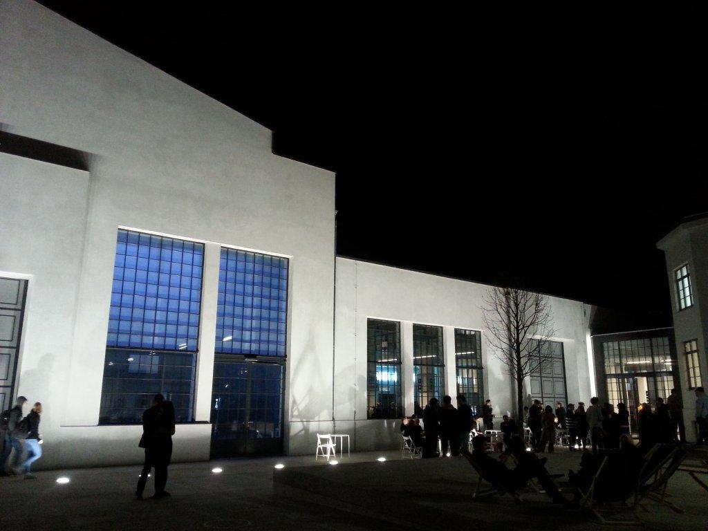 Nowy Teatr podczas otwarcia 14 kwietnia / Agata Żelazowska