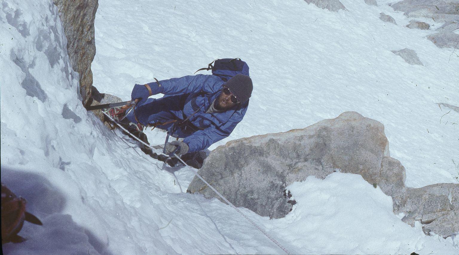 Leszek Cichy, himalaista, pierwszy zimowy zdobywca Everestu