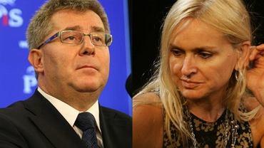 Ryszard Czarnecki, Monika Olejnik