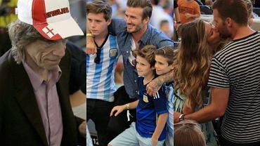 Finał Mundialu na stadionie Maracana w Rio de Janeiro był na mapie wakacyjnych wydarzeń punktem obowiązkowym dla wszystkich fanów futbolu. To, że na widowni zobaczyliśmy Davida Beckhama czy Pele nie zdziwiło nas, ale 'selfie' Rihanny i Miroslava Klose było nie lada zaskoczeniem. Nic jednak nie jest w stanie przebić zdjęcia z ręki Lukasa Podolskiego i kanclerz Niemiec Angeli Merkel. Zobaczcie, kto jeszcze oglądał na żywo finał Mistrzostw Świata w Piłce Nożnej.