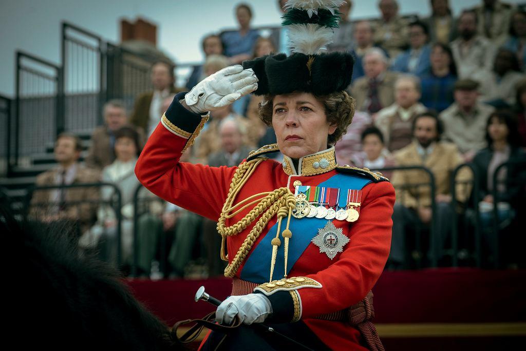 Olivia Colman w serialu 'The Crown'