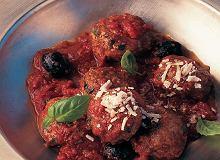 Włoskie klopsiki w sosie pomidorowym - ugotuj