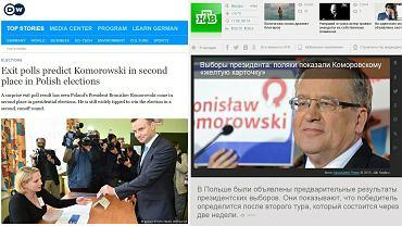 Zagraniczne media o wyborach prezydenckich 2015