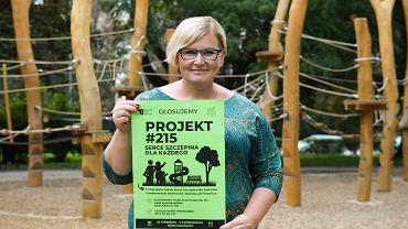 Wrocławski Budżet Obywatelski 2019. Joanna Klima, liderka projektu 215 'Serce Szczepina'