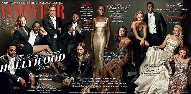 Chiwetel Ejiofor, George Clooney, Julia Roberts i Margot Robbie