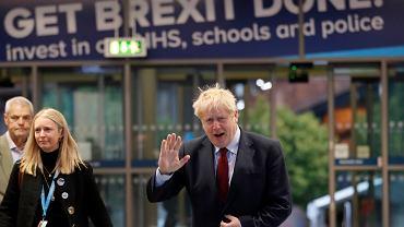 Boris Johnson w drodze na konferencję Partii Konserwatywnej