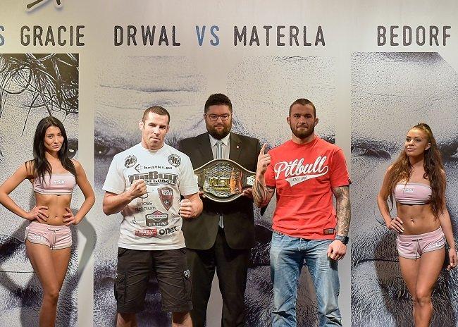 Na zdjęciu Tomasz Drwal (z lewej) i Michał Materla
