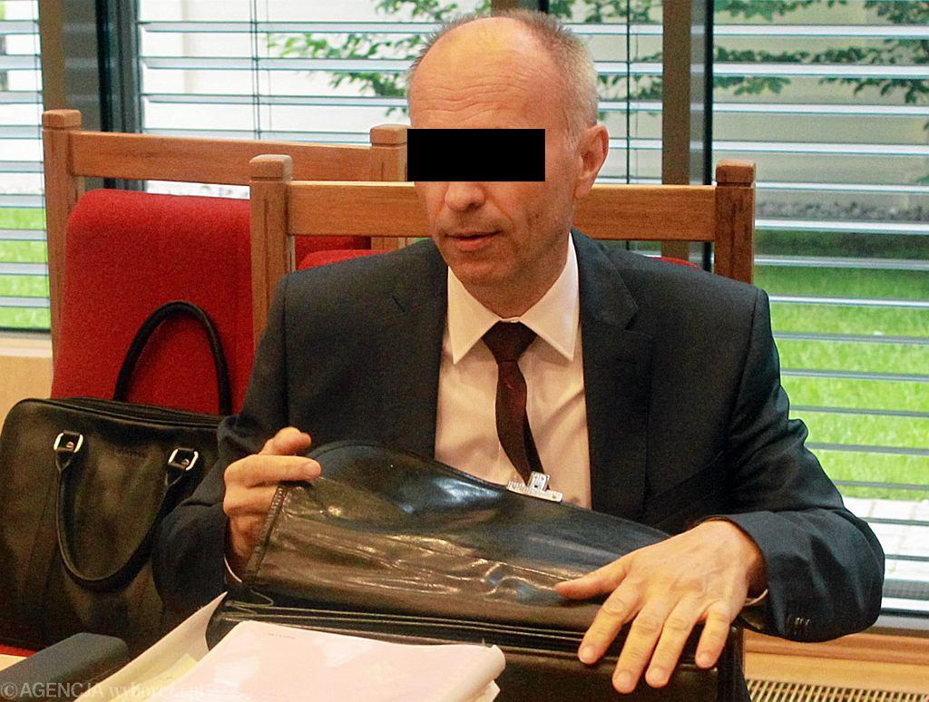 29.07.2015, Trybunał Konstytucyjny, ówczesny szef Komisji Nadzoru Finansowego Andrzej J. podczas rozprawy w sprawie SKOK.