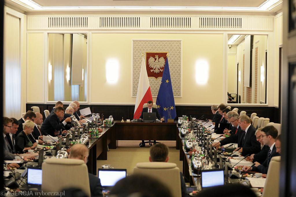 Posiedzenie rządu, Kancelaria Prezesa Rady Ministrów