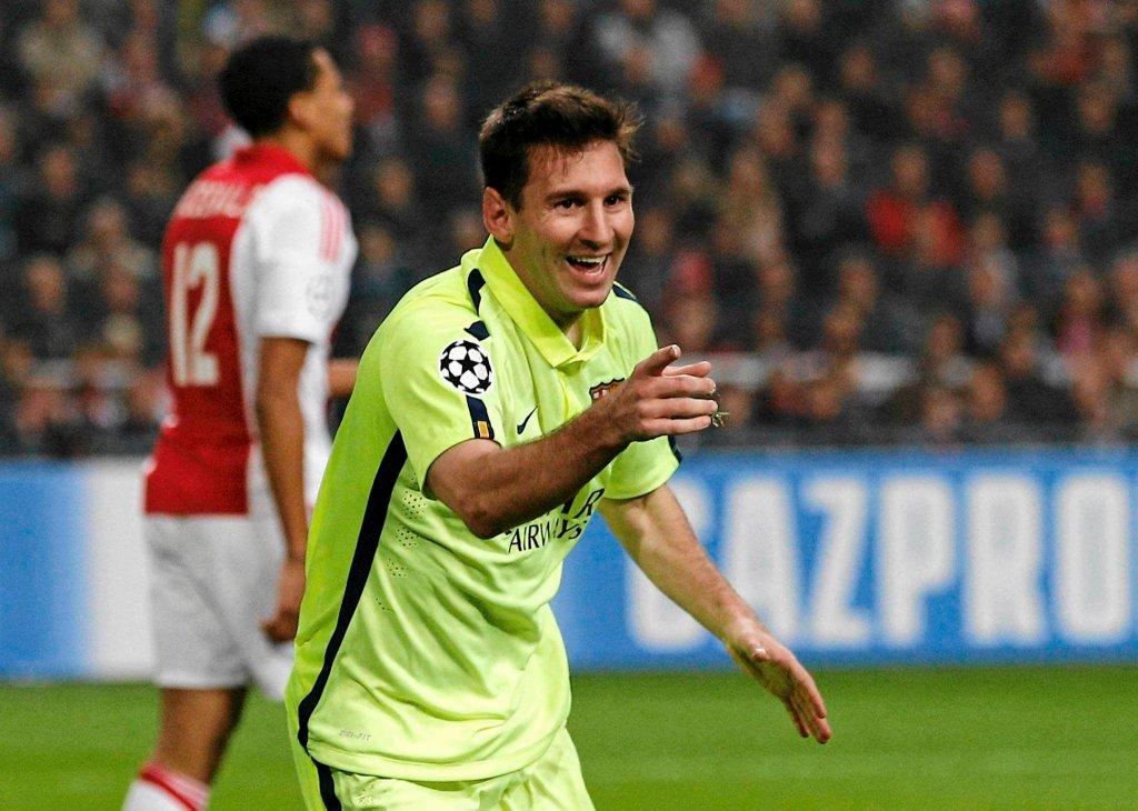 Liga Mistrzów. Ajax - Barcelona 0:2