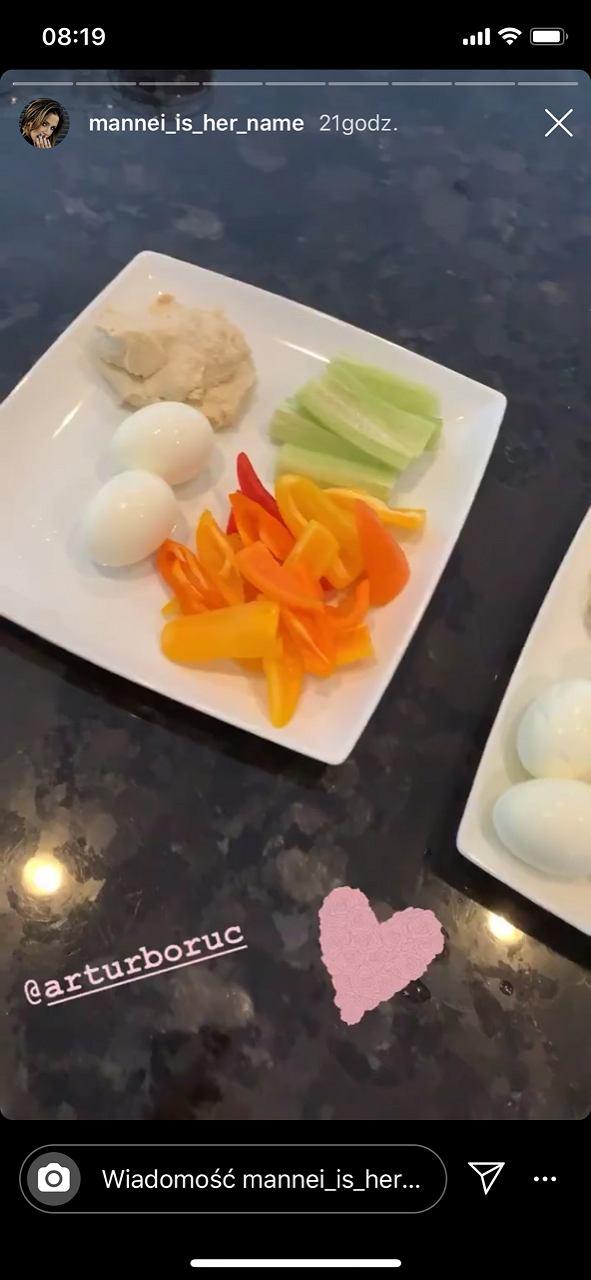 Sara Boruc pokazała swoje śniadanie