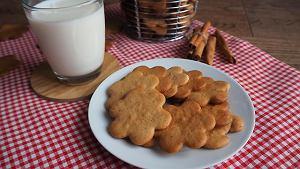 Ciasteczka miodowo-imbirowe