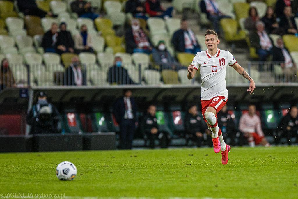 Stadion Energa Gdańsk. Polska - Włochy 0:0. Sebastian Szymański
