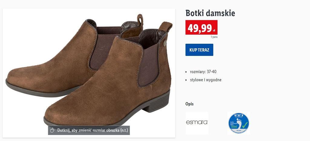 Lidl sprzedaje modne botki za mniej niż 50 zł. Są bardzo stylowe i wygodne
