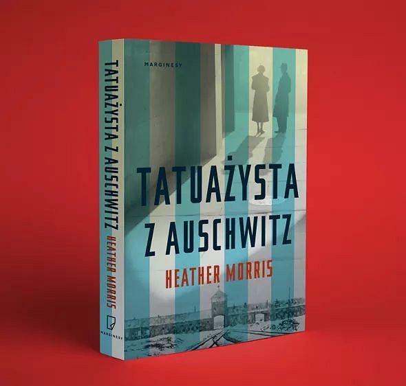Książka 'Tatuażysta z Auschwitz' autorstwa Heather Morris