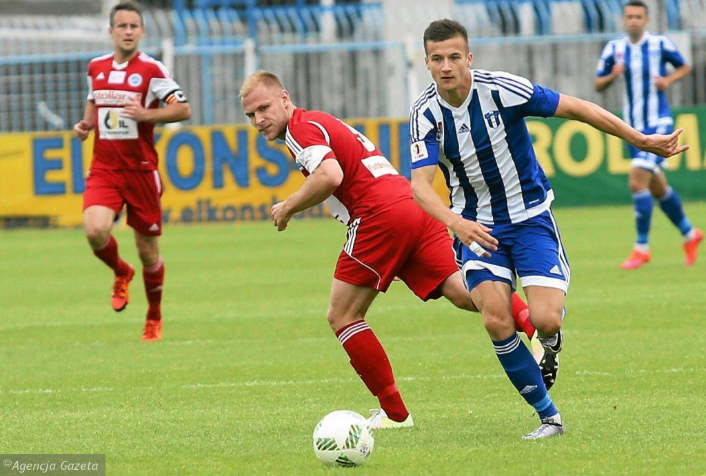 Piłka nożna, I liga. Wisła Płock - Wigry Suwałki 0:0