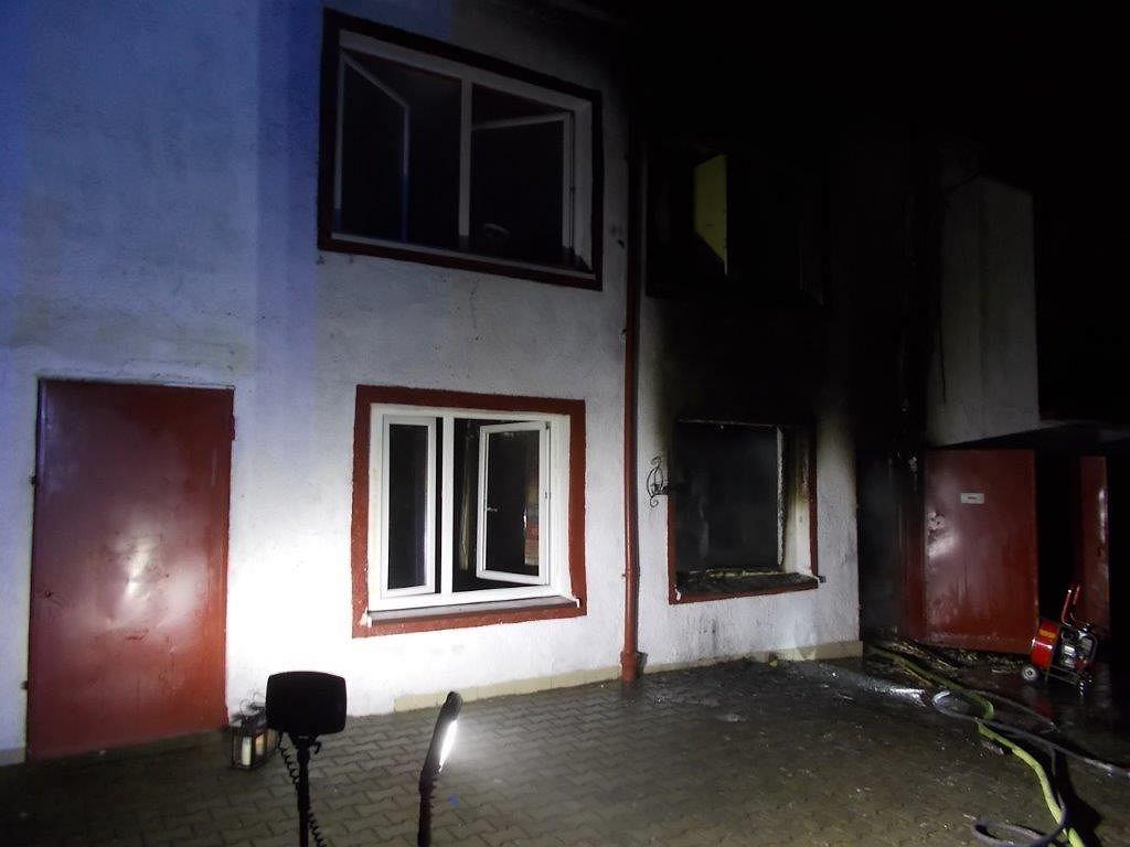 Pożar w escape roomie w Koszalinie