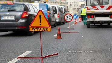 Kierujący tirem rozjechał starszą kobietę na przejściu dla pieszych przy ul Wolskiej w Warszawie