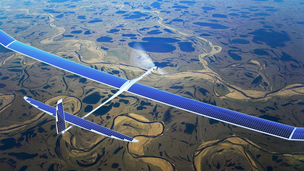 Dron Titan Aerospace Solara 50