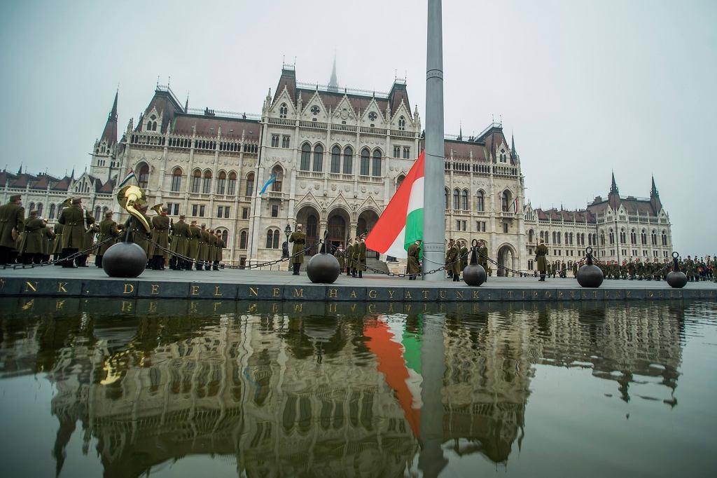 Obchody 64. rocznicy rewolucji 1956 roku, Budapeszt, 23 października 2020 r.